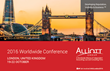 Professional Firm Leaders Gather in London for Alliott Group 2016 Worldwide Conference