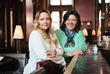 The Owners of Golden Decanters, Julia Hall Mackenzie-Gillanders (L) and Ann Medlock (R)