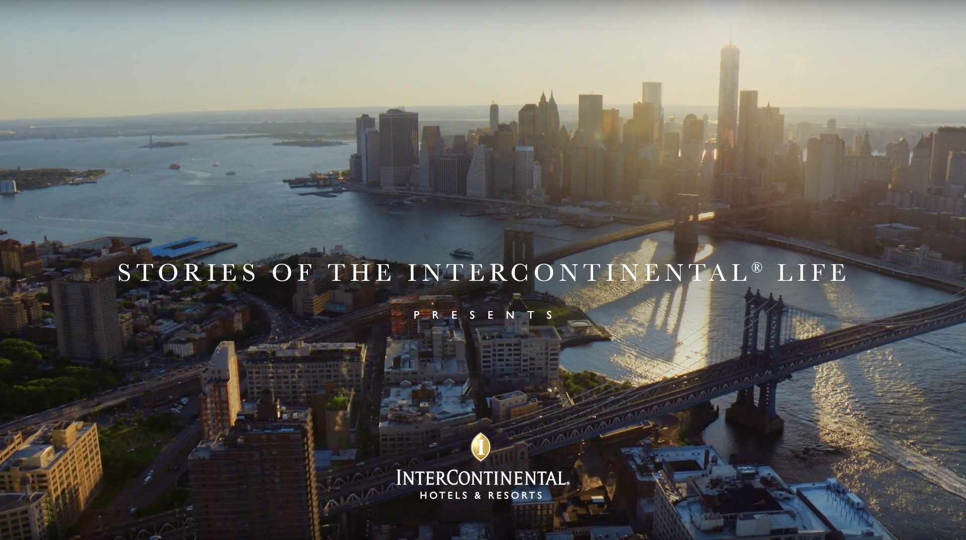 """Stories of the InterContinental life"""" Content Platform"""