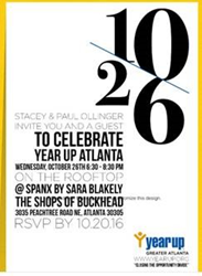 Year Up Greater Atlanta Board Member, Stacey Ollinger to host Fundraiser Event on October 26, 2016