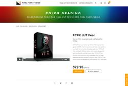 FCPX LUT Fear - FCPX Plugin - Pixel Film Studios