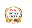 Club Car's rental-ready Carryall Utility Vehicles received  a prestigious Editor's Choice Award from Rental Magazine in 2016.
