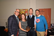 Geoffrey Zakarian, Neil Patrick Harris, and David Burtka with Guittard Chocolates