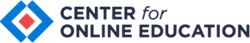 Center for Online Education logo