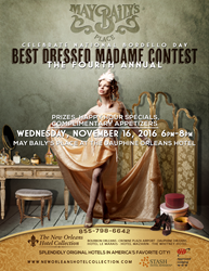Best Costume Contest at May Baily's Place, Dauphine Orleans Hotel