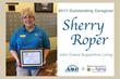 John Evans Housekeeper Receives Outstanding Caregiver Award