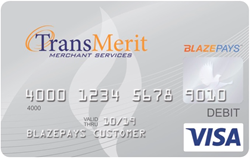 TransMerit Prepaid Debit Card