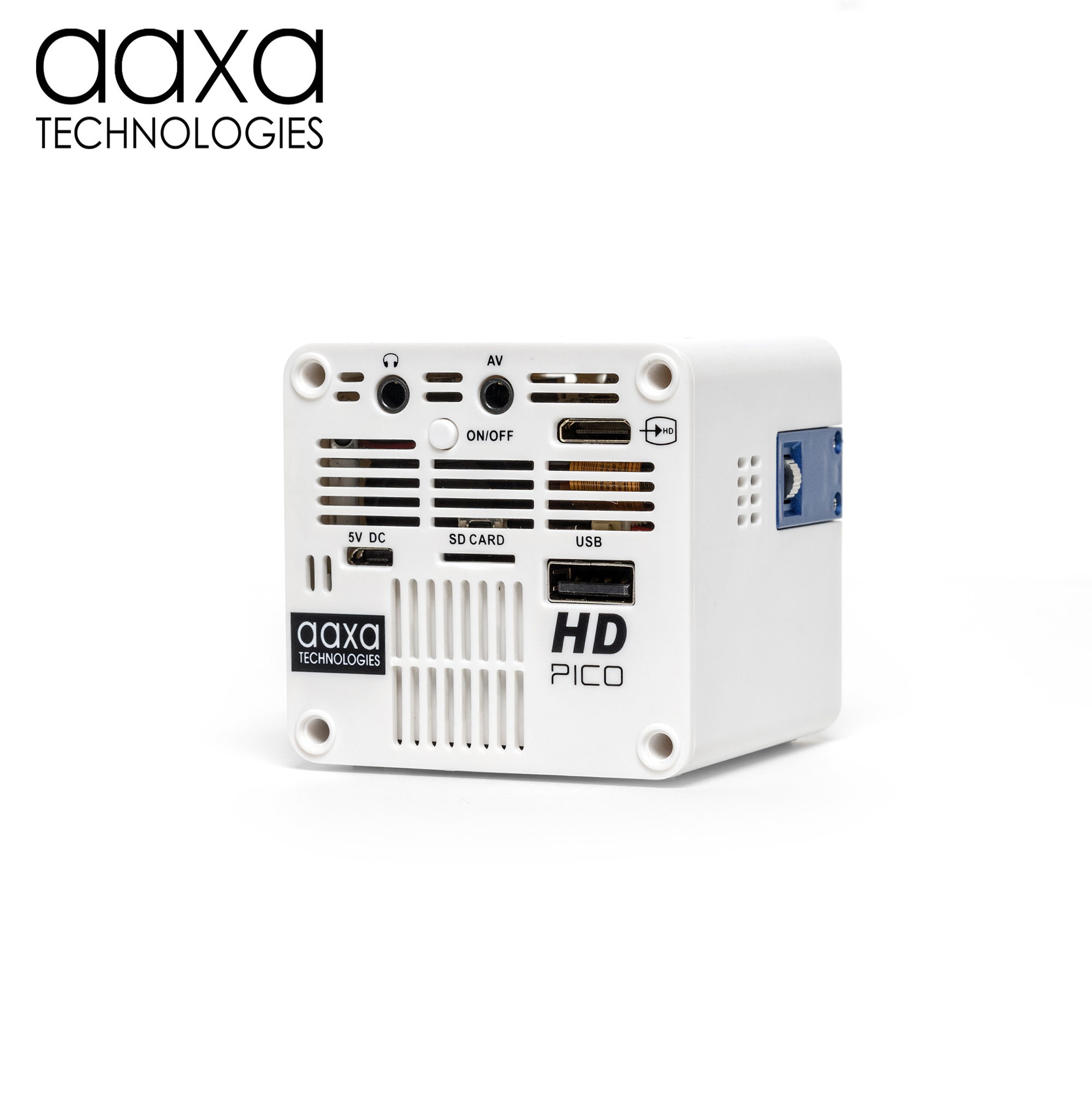 Aaxa technologies announces the hd pico world 39 s smallest for Smallest full hd projector