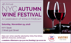 New York wine tasting, NYC wine tasting, New York Wine Events, NYY Steak, wine and food, wine and jazz
