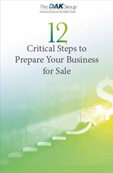 The 12 Critical Steps to Prepare Your Business for Sale