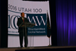 Utah Gov. Gary R. Herbert spoke to the awardees during the 22nd Annual Utah 100 Awards, in Salt Lake City, October 18, 2016.