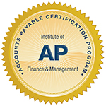 Accounts Payable Certification