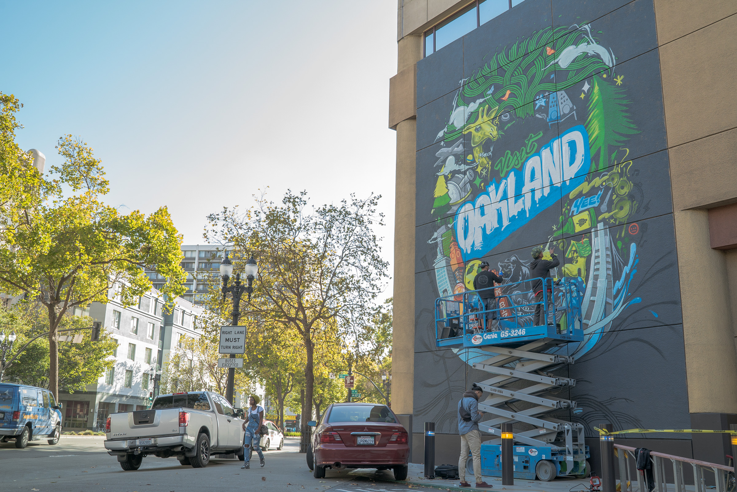 Visit Oakland Debuts City Mural For Official  U0026quot Selfie Wall U0026quot
