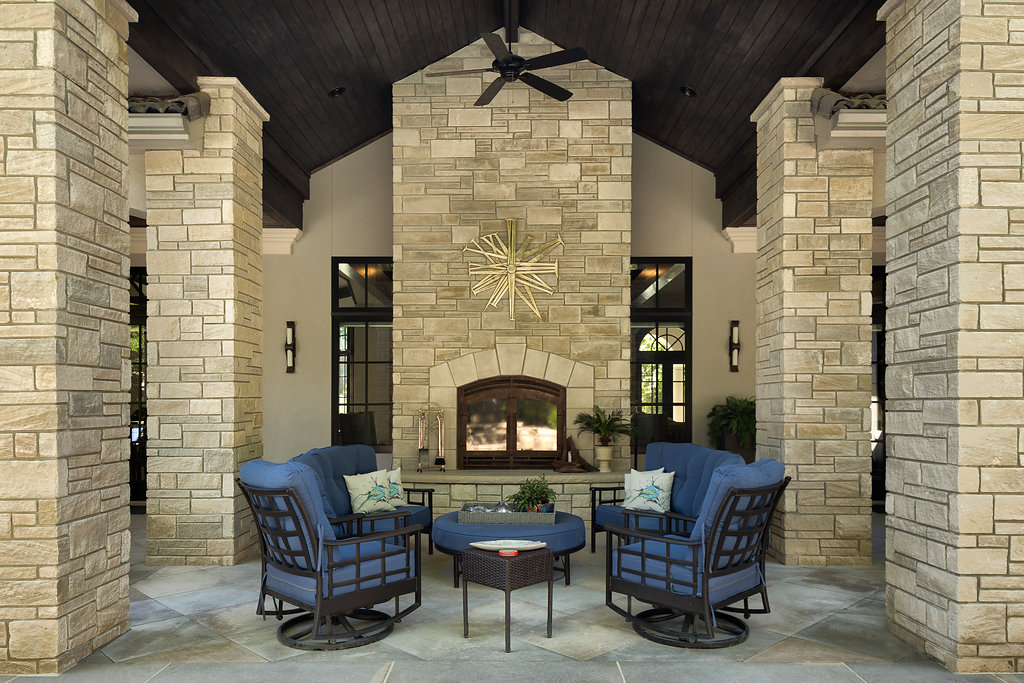 home built with indiana limestone company veneers featured in kansas city stars review of regions limestone architecture - Limestone Home 2016