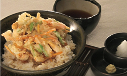 Health Kitchen Washoku Recipe - Tempura Bowl