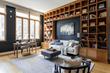 Living room designed, delivered, set up by Furnishr in one day