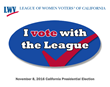 voting, League of Women Voters of California, advocacy, ballot measure endorsements, elections, CAElections, unbiased