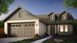 The American Traditional new home plan by McCaffrey Homes in the Riverstone community in southeast Madera County, California