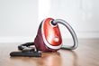 The New Vacuum pulls dirt from carpets and upholstery without losing suction.