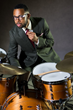 Drummer Jerome Jennings (photo: Javier Oddo).
