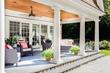 pool house, transitional pool house furnishings, pool house furnishings, swimming pool