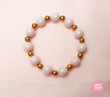 Cotton Candy stretch bracelet