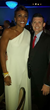 Robin Roberts from Good Morning America with Dr. James Mercer at the Point Foundation's Point Honors Los Angeles Gala
