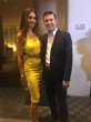 Tabasum Mir and Dr. James Mercer at the I Love Me Foundation Breaking the Silence Awards