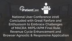 iPatientCare Successfully Concludes National User Conference 2016