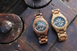 Lumbr Launches Kickstarter Campaign to Debut Troy, a Handmade Wooden Watch with Mechanical Skeleton