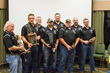 The Doe Run Company's Maroon Mine Rescue Team Wins Top Honors at Missouri S&T Mine Rescue Competition. Shown left to right are Steve Setzer, Andrew Hampton, Nathan Setzer, Isaiah Henseler; Rich Brewer