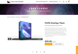 FCPX - FCPX Overlay Flare - Pixel Film Studios Plugin