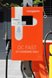 One of the new Greenspot charging stations is a DC Supercharger capable of providing an 80% charge on a typical sedan in about 30 minutes