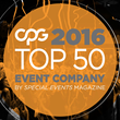 CPG was named a Top 50 Event Company in 2016