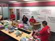 Resource One Credit Union Makes Care Packages for the Needy