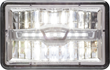 HLL79HB LED headlamp, HLL78LB LED headlamp, four- by six-inch rectangular headlamp