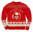 The Dude Abides Christmas Sweater by The Big Lebowski