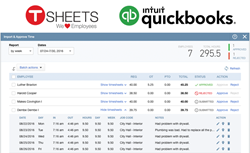 TSheets and Intuit partner to help small businesses run payroll.