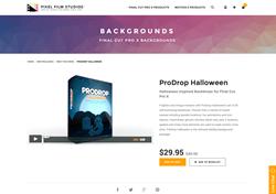 FCPX Plugin - ProDrop Halloween - Pixel Film Studios