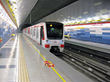 Picking up speed: The new Line 3 extends the Santiago Metro network by 21.7 km (13.5 miles) of track connecting 22 new stations. The tunnels and stations are waterproofed with PENETRON ADMIX.
