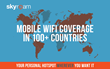 Skyroam Celebrates 100 Countries Of Global WiFi Coverage with Unlimited Data Giveaway