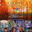 The First Online Academy for the Visionary Arts Launches Online at 7pm EDT on October 25th, 2016