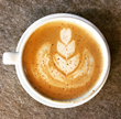 Maple Cinnamon Latte from Crimson Cup Coffee and Tea