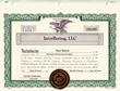 InterBering, LLC Member Certificate