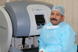 Dr R K Mishra - Robotic Surgeon