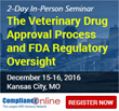 ComplianceOnline Announces Seminar on FDA Veterinary Drug Approval Process