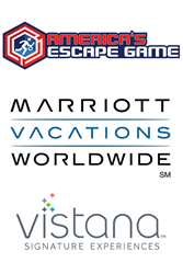 America's Escape Game, the global leader in the exploding escape game marketplace, is proud to announce our new partnership with Marriott Vacations Worldwide and Vistana Signature Experiences.