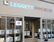 A Leggett Immobilier shop in France still welcoming many British buyers.