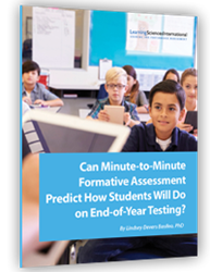 Can Minute-to-Minute Formative Assessment Help Predict How Students Will Do on End-of-Year Testing?