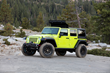 ThrowBack one-piece folding fabric roof,